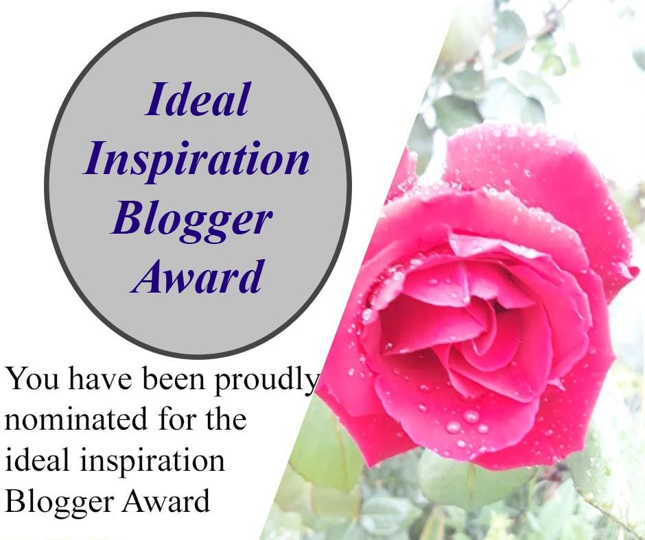 Ideal Inspiration BloggerAward