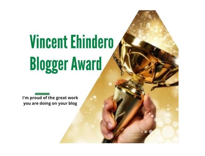 Vincent Ehindero Award